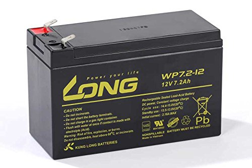 USV Akkusatz kompatibel Effekta ME400 AGM Blei Accu Batterie Notstrom UPS VdS