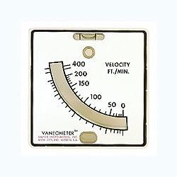 Dwyer - 480 Vaneometer Swing Vane Anemometer, 25-400 FPM