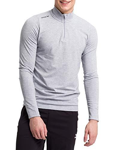 Erima Herren Pullover Basic Rollkragen, Grau Melange, XL, 2332001