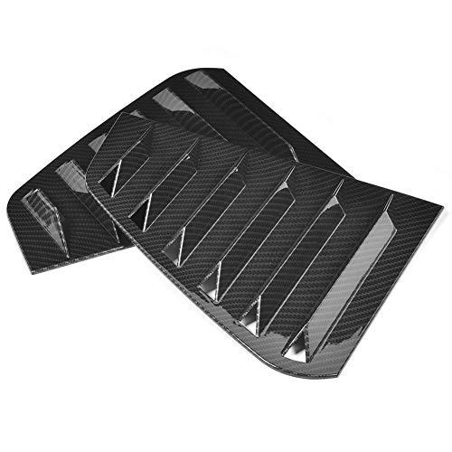 Persianas de ventana lateral, gran durabilidad, ventilación de persianas de ventana lateral de alta calidad, servicio para R Mk7 Maintain Mk7.5 2013-2020(Carbon pattern)