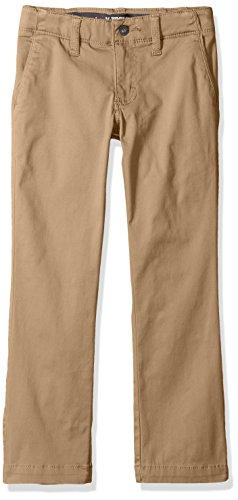 Lee Boys' Big Sport X-treme Comfort Slim Chino Pant, Original Khaki, 18 Regular