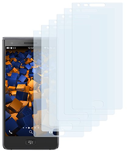 mumbi Schutzfolie kompatibel mit BlackBerry Motion Folie klar, Bildschirmschutzfolie (6X)