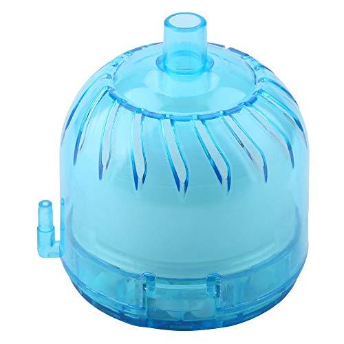 Hffheer Aquarium filter mini ronde vorm aquarium luchtfilter Aquarium biochemische spons actieve kool percolator onderwater luchtaangedreven zuurstofzeef