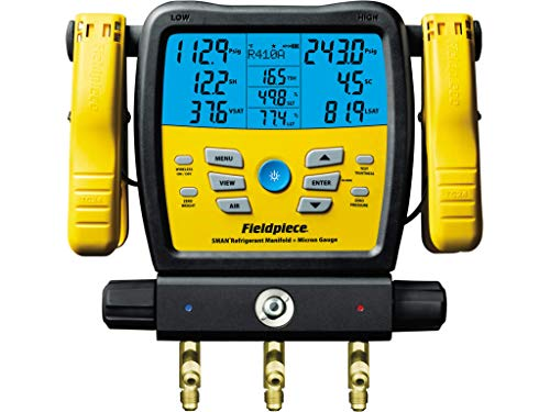 commercial Fieldpiece SM380V SMAN Distributor, Black digital manifolds