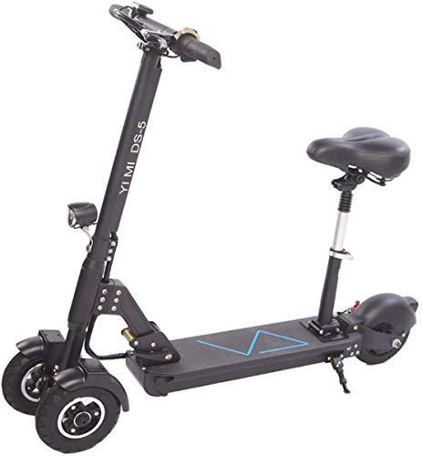 Xiaokang Scooter eléctrico portátil Adulto Plegable invertido Mini Pedal de Tres Ruedas pequeño Trabajo Herramienta de Viaje artefacto,35 km