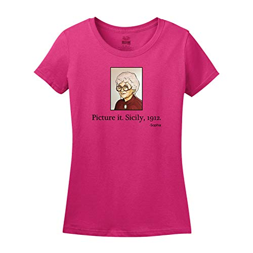 Picture It. Sicily, 1912. Golden Girls Women's Tee Shirt