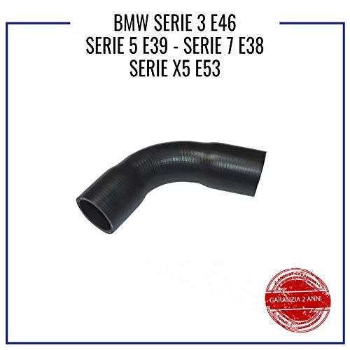 COMPATIBILE CON B M W E46 E39 E38 E53 TUBO TURBO MANICOTTO INTERCOOLER 11617799389-11612247903 - 11617799389F