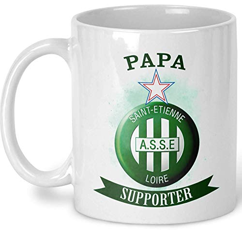 Personalized ASSE mug - AS Saint-Etienne mug - birthday gift - christmas gift