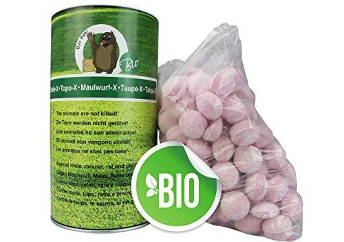 Green Care Maulwurfvertreiber-X Bio 1,15kg Maulwurfschreck, Maulwurfbekämpfung, Wühlmausschreck, Wühltierfrei, Maulwurfstopp, Maus-Abwehr