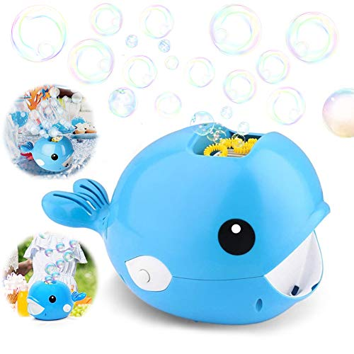 Sunshine smile Bubble Machine Whale,Bubble Mania,seifenblasenmaschine Kinder,automatische Bubble Machine,seifenblasenmaschine Bubble Machine,seifenblasen Spielzeug