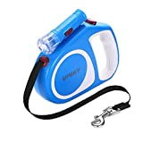 UPSKY Retractable Dog Leash, 16 ft Scalable Dog Walking Leash with Bright Flashlight for...