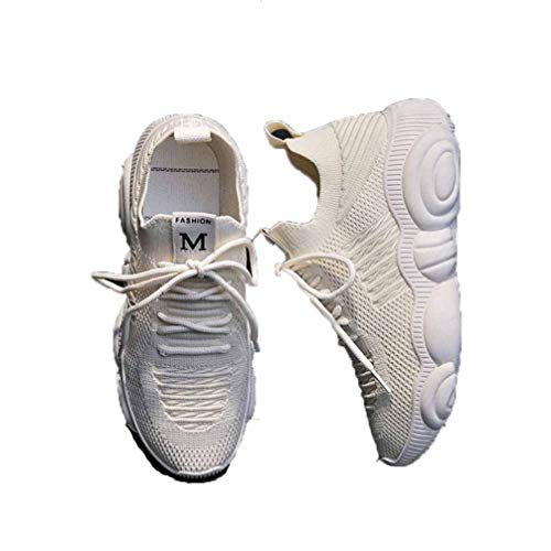 Frauen Mesh Trainer Mode Atmungsaktive Plattform Socken Schuhe Leichte Lauf Fitness Gym Wohnungen Casual Wedge Basket Sneakers