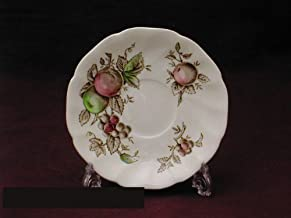 Johnson Bros. Harvest Time Brown M/C Saucers Only