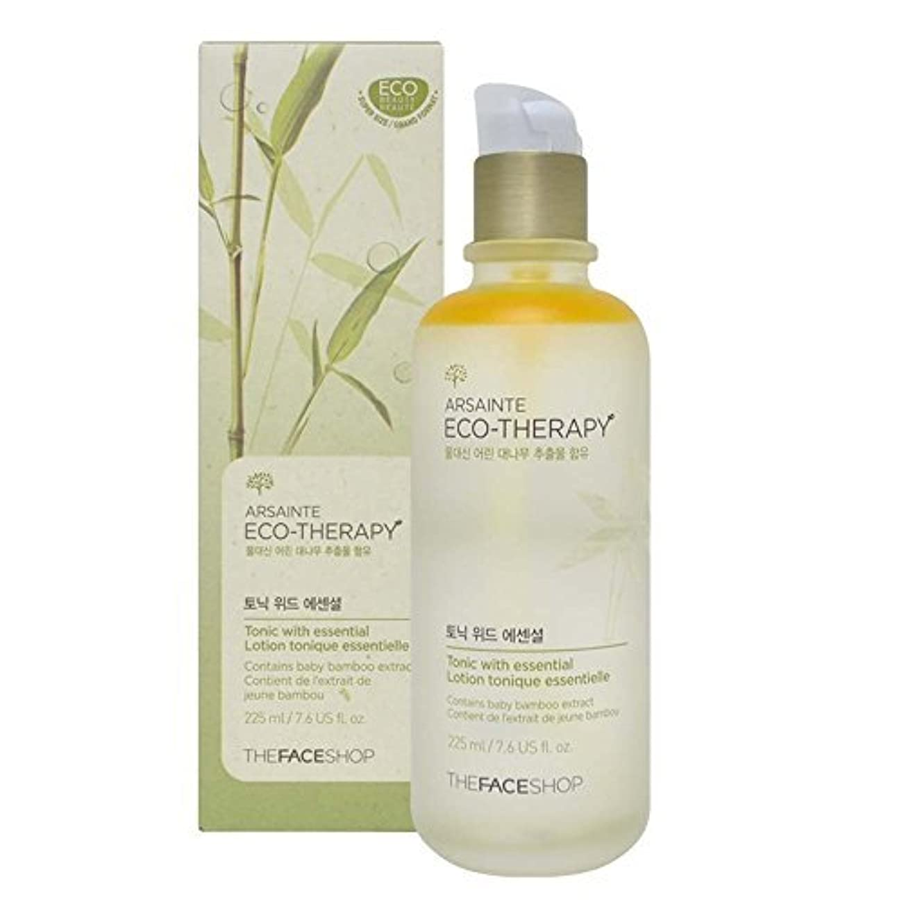 指スティック縮れたThe Face shop Arsainte Ecotheraphy Tonic with essential Big Size 225ml [並行輸入品]