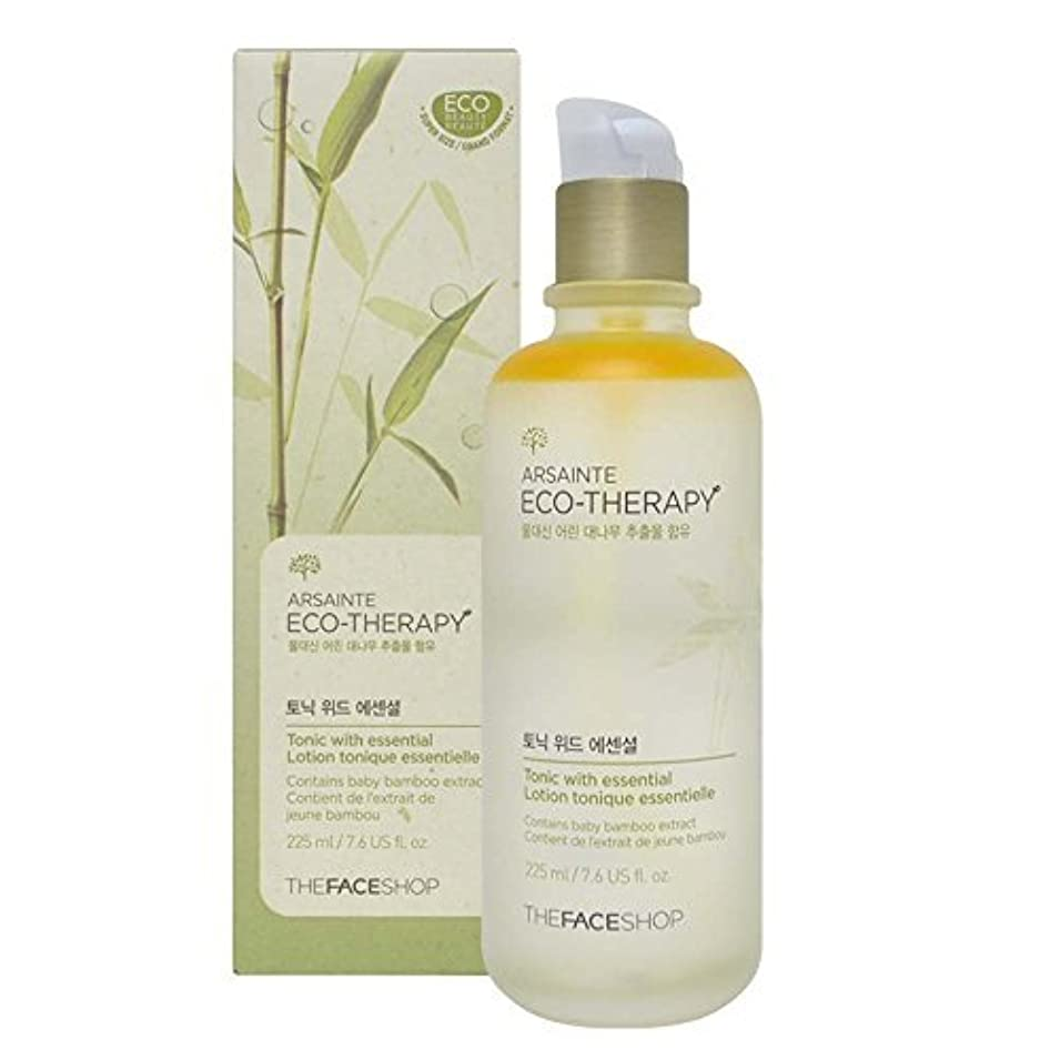 いつか郵便れんがThe Face shop Arsainte Ecotheraphy Tonic with essential Big Size 225ml [並行輸入品]