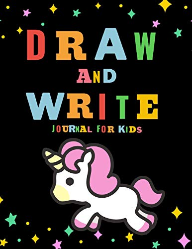 Draw and Write Journal for Kids: Unicorn Theme Writing Drawing Primary Composition Notebook (Creative Story Tablet)
