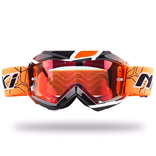 NENKI Gafas Motocross Niño NK-1018 (Naranja) …