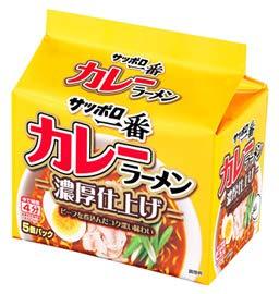 サンヨー食品販売 サッポロ一番 カレーラーメン 5食入