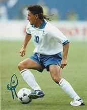 Italy Roberto Baggio Autographed Signed 8x10 Photo JSA COA #2