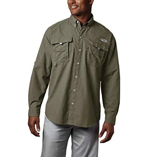 Columbia Men's PFG Bahama II Long Sleeve Shirt , Sage, Medium
