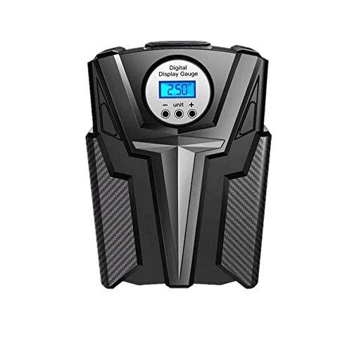 SMSOM Portable del neumático del compresor de Aire for neumáticos del Coche de 12V DC y Otros Bomba de Aire eléctrica Digital hinchables con manómetro