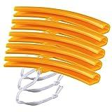 Protector de Cambiador de Neumáticos de Coche Montaje de Neumáticos de Motocicleta Protectores de Llantas de Motocicleta para Todos Los Cambiadores de Neumáticos Habituales 4 Piezas (amarillo)
