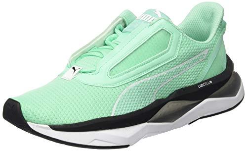 PUMA LQDCELL Shatter XT NC WNS, Zapatillas Deportivas para Interior para Mujer, Verde (Green Glimmer), 38 EU
