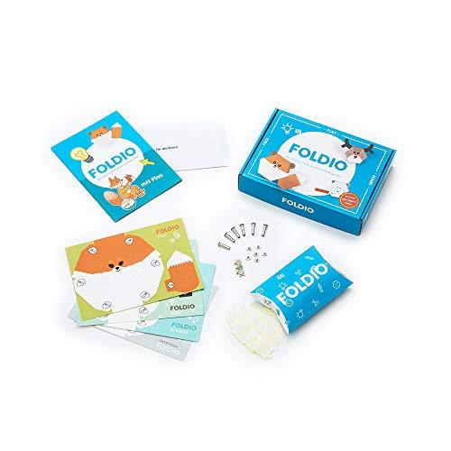 Foldio Starterset für Calliope Mini | Spielend Programmieren Lernen | Für Kinder ab 7 Jahren (ohne Calliope Mini)