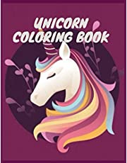 Unicorn Coloring Book: For Kids Ages 4-8,100 pages, size 8.6 x 11 in , Fun with Colors, and Animals,Great Gift for Boys & Girls , unicorn & magic