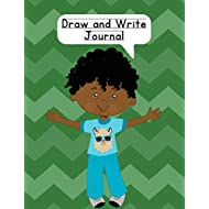 Draw and Write Journal: Composition NoteBook for Kids - Paper With Primary Lines and Half Blank Space for Drawing Pictures - 140 Pages - Boy Design #3