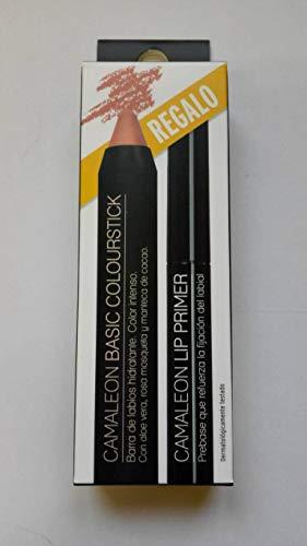 Camaleon Barra Labios Basic Berenjena + Lip Primer Regalo 100 ml