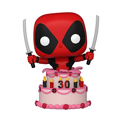 Funko 54654 POP Marvel: Deadpool 30th- Deadpool in Cake