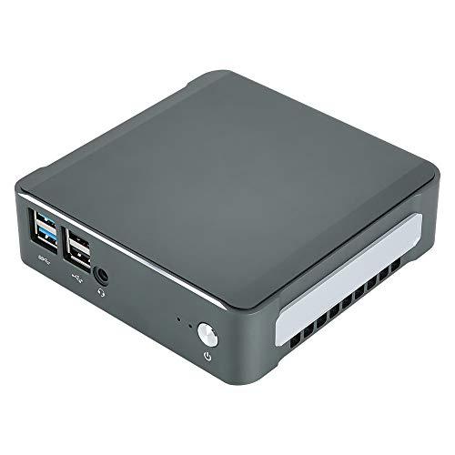 Cosiki Mini computadora Duradera, Mini computadora de Escritorio, computadora de Escritorio de tamaño Ultra pequeño para la Oficina, el hogar(European regulations)