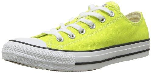 Converse All Star Ox Canvas Seasonal, Unisex-Erwachsene Gymnastikschuhe, gelb - Citronelle - Größe: 36
