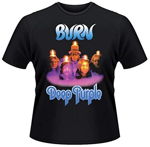 JHC Deep Purple 'Burn' T-Shirt Black L