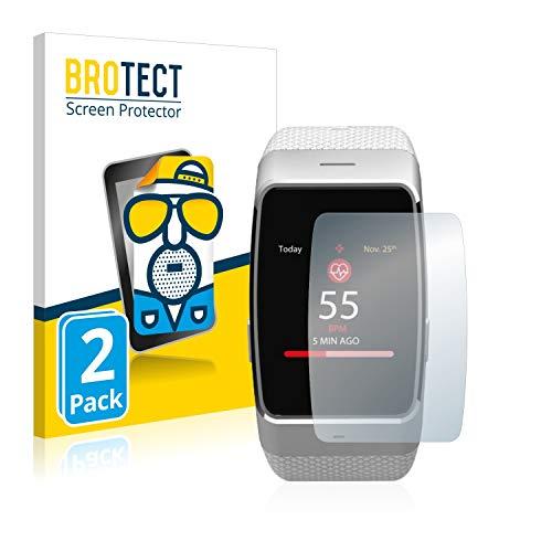 BROTECT 2X Entspiegelungs-Schutzfolie kompatibel mit MyKronoz ZeWatch 4 Bildschirmschutz-Folie Matt, Anti-Reflex, Anti-Fingerprint