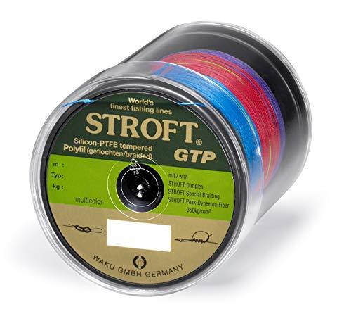 WAKU Schnur STROFT GTP Typ R Geflochtene 250m Multicolor R12-0,550mm-47kg
