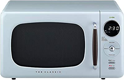 WINIA WOR07R3ZEL Retro Countertop Microwave Oven, 0.7 Cu. Ft, City Blue