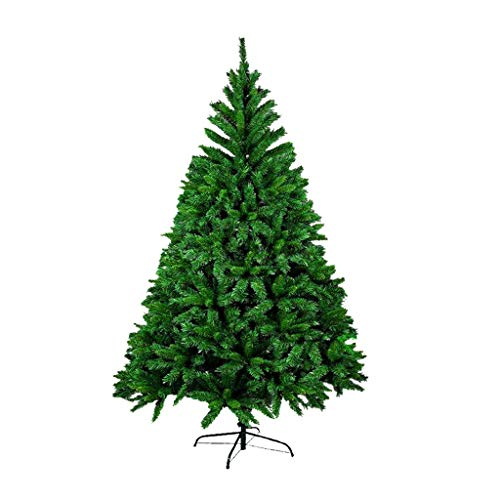 Christmas tree Artificial Christmas Tree With Accessories, Holiday Decorations Including LED And Stand For Home, Party 3.9ft-13.1ft 110v/220 Christmas Decorative ( Size : 2.4m/7.8ft+10 m light x2 )
