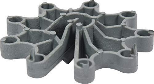 Avståndshållare vertikalt för armeringsstål betongstål monierjärn 50 stycken (25 – 30 mm)