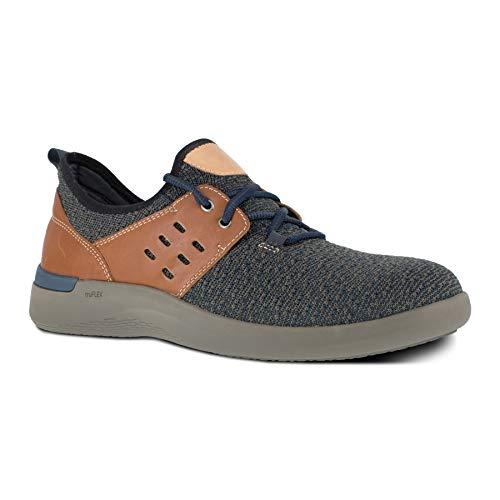 Rockport Work Men's Truflex Safety Toe 2 Eye Tie Work Sneaker, Navy, 13