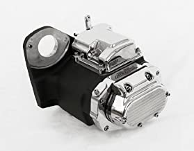6-Speed Black and Chrome Transmission for Harley-Davidson Softail