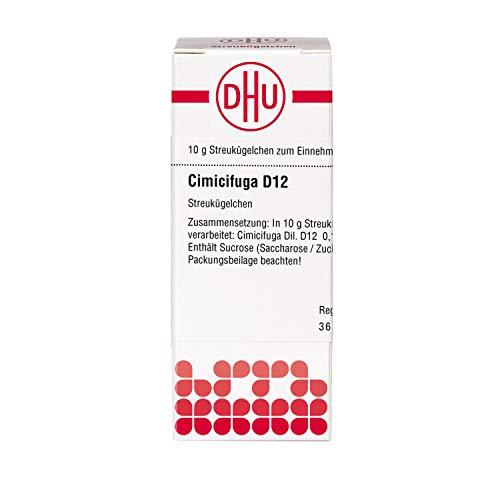 DHU Cimicifuga D12 Globuli, 10 g Globuli