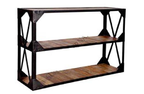 GELUSA Mueble aparador o Vitrina Consola Vintage o estanterías Envejecida Tipo Vintage