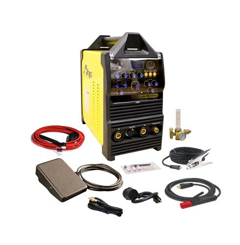 AHP Alpha-TIG 225Xi 200 Amp IGBT AC/DC Pulse TIG/Stick Welder 110v/220v Dual Voltage