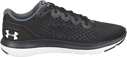 Oddychające i lekkie buty typu sneaker o wygodnym dopasowaniu, trwałe buty do biegania z wkładką Charged Cushioning, Czarny czarny biały biały 002 002-39 EU