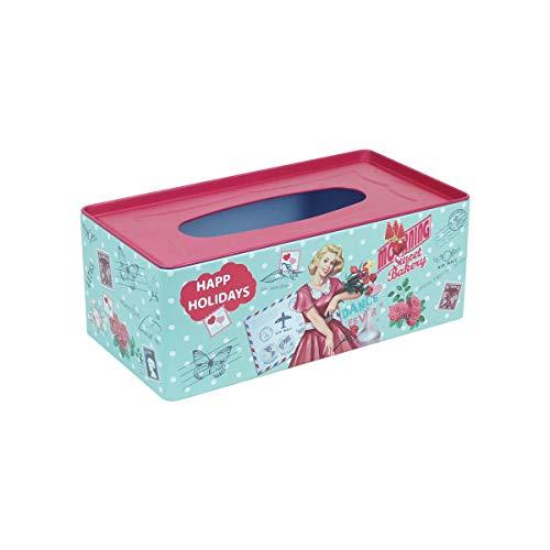 Home Gadgets Caja Pañuelos Retro Metalica 25 cm