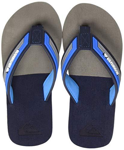 Quiksilver Jungen Molokai Eclipsed Deluxe Youth Badeschuhe, Blau (Blue/Grey/Blue Xbsb), 31 EU