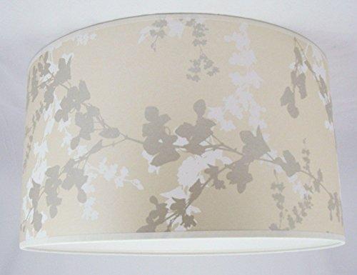Handgemachte Lampenschirm 48cm - Laura Ashley Hawthorn Pale Bamboo Tapete