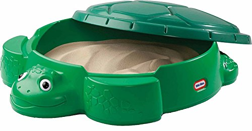 4myBaby GmbH Little Tikes 631566E3 Schildkrötensandkasten mit Spielsand Quarzsand für Sandkasten Dekosand TÜV geprüft 75 kg
